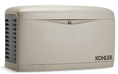 A residential standby generator from Kohler