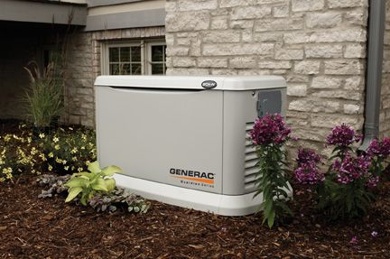 A residential standby generator
